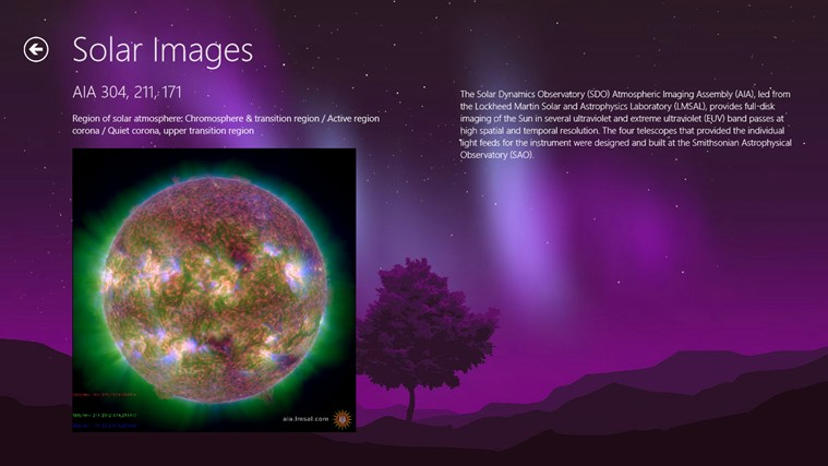 Space Weather screen shot 7