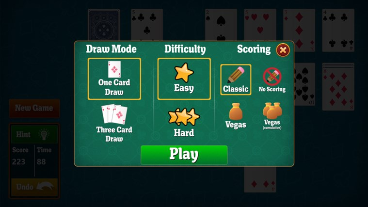 Simple Solitaire screen shot 3