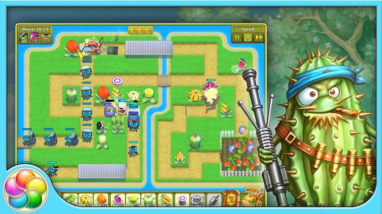 Garden rescue screen shot 1