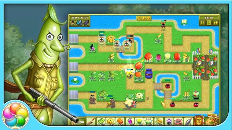 Garden rescue screen shot 3