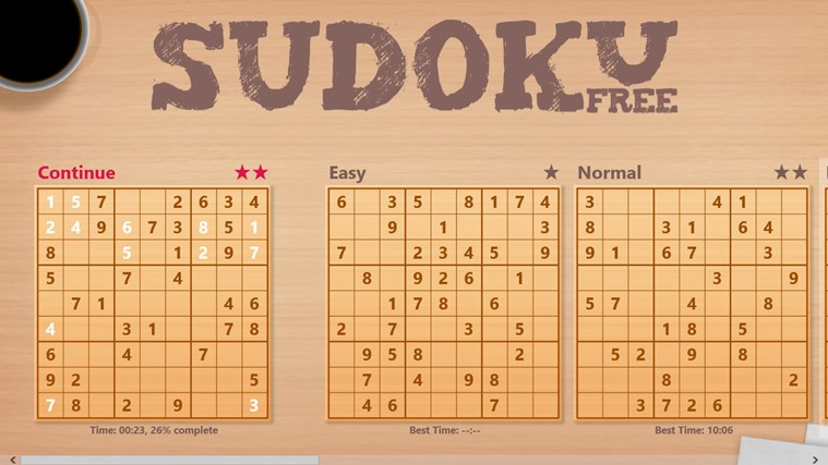Sudoku Free screen shot 1