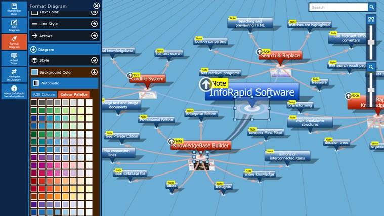 KnowledgeBase Builder screen shot 7
