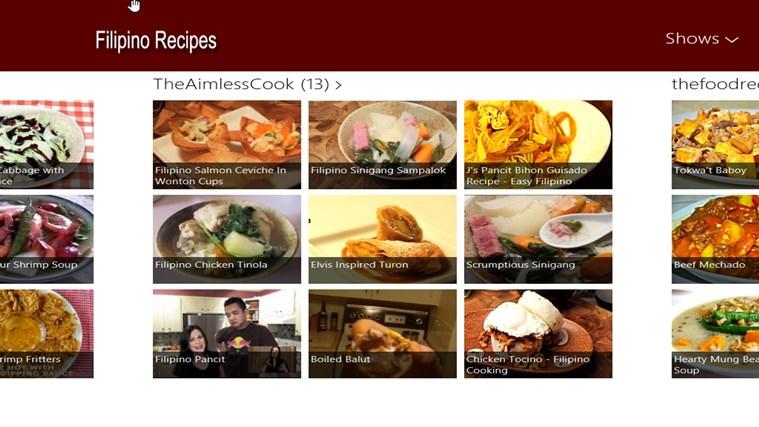 Filipino Recipes screen shot 3