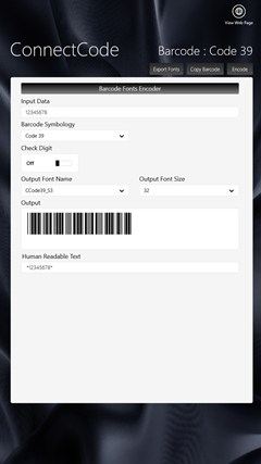 Barcode Software screenshot 3