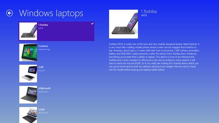 windows 8 laptops screen shot 1