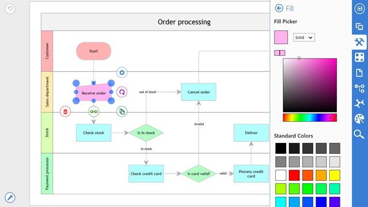 Grapholite Diagrams Pro screen shot 3