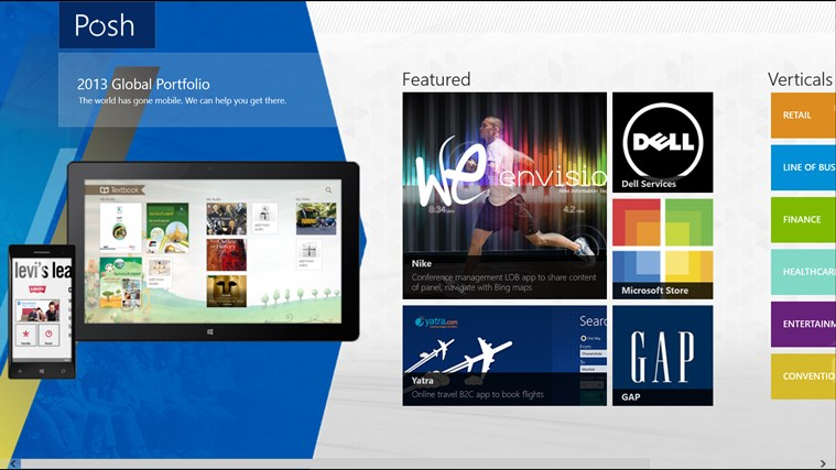Posh consulting windows store store top apps app annie for App consulting