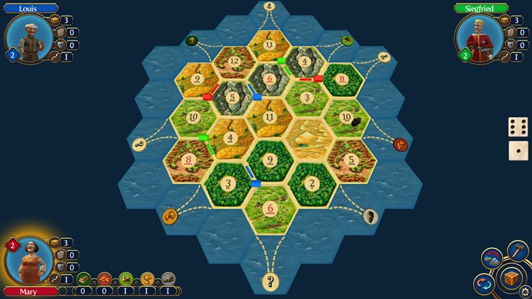 Catan screen shot 1