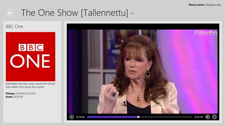 Live TV näyttökuva 5