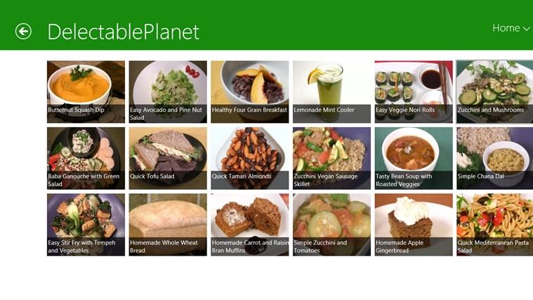 Vegetarian schermafbeelding 3