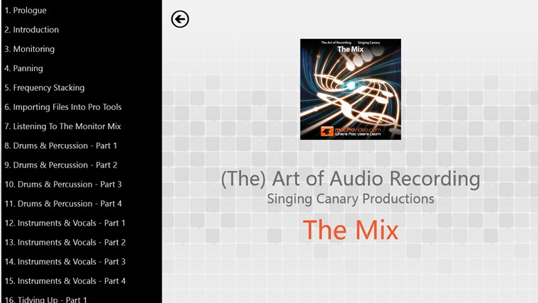 Art of Audio Recording - The Mix screenshot 1
