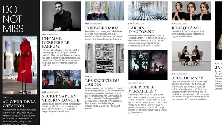 DiorMag capture d'écran 1
