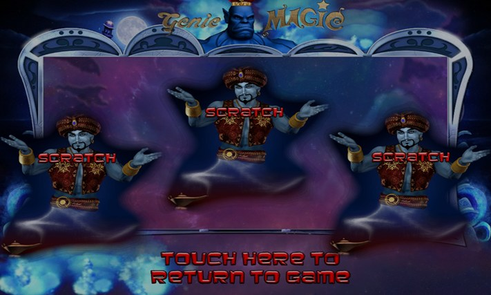 GENIE MAGIC SLOT MACHINE Screenshot 5