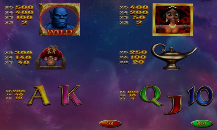 GENIE MAGIC SLOT MACHINE posnetek zaslona 7