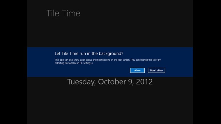 Tile Time screen shot 1