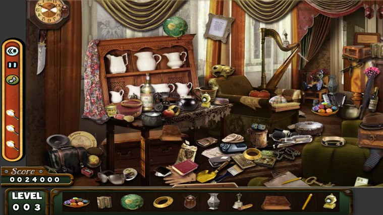 Hidden Objects- The Room- The Wallet- The House game screen shot 1
