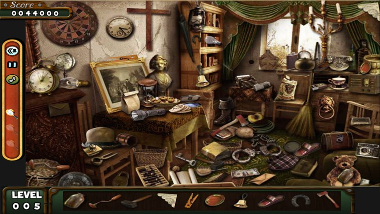 Hidden Objects- The Room- The Wallet- The House game screen shot 3