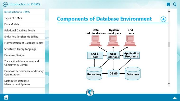 DBMS by WAGmob سکرین شاٹ 1