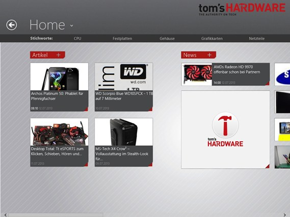 Tom's Hardware screen shot 1