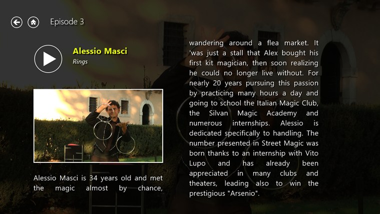 Magic Street Ep.3 - 3D στιγμιότυπο οθόνης 1