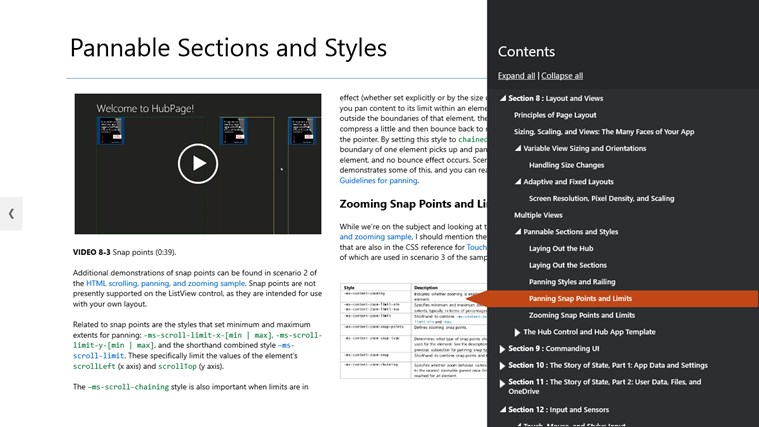 Microsoft Press Guided Tours screen shot 1