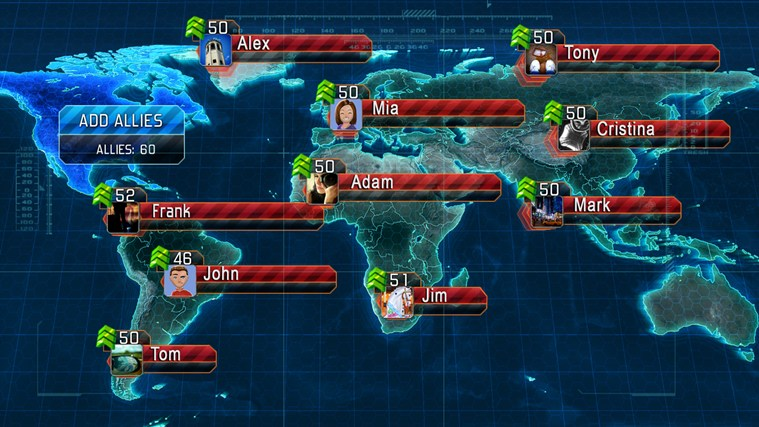 World at Arms screen shot 3
