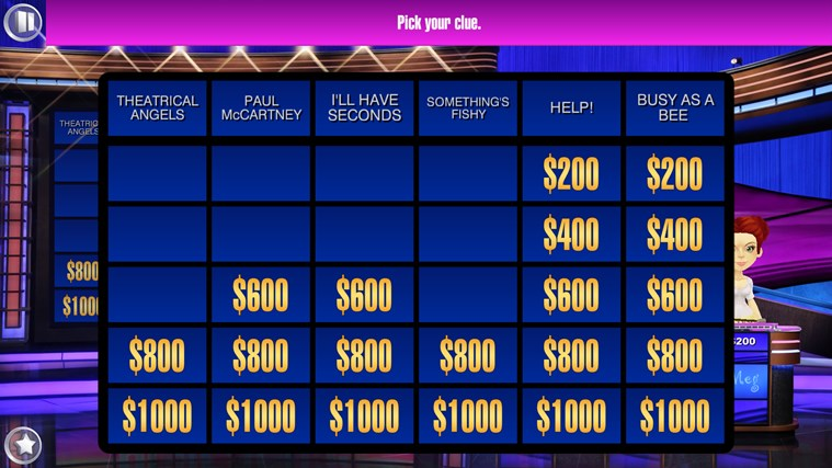 Jeopardy! screen shot 1
