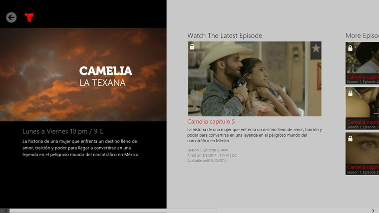 Telemundo Now screen shot 1
