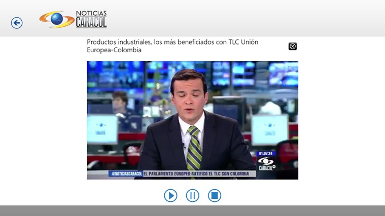 Noticias Caracol screen shot 5