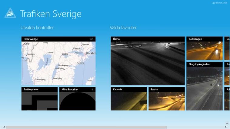 Trafiken Sverige-skärmbild 1