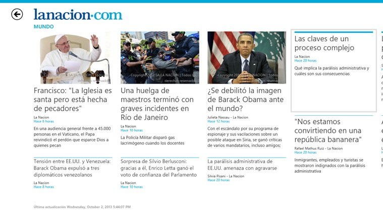 LA NACION screen shot 3