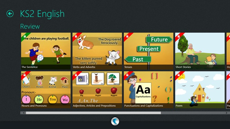 KS2 (Math, English, Science)-simpleNeasyApp by WAGmob screen shot 3