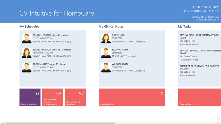 CV Intuitive for HomeCare screen shot 1