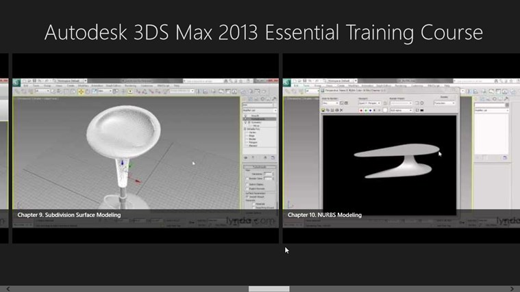 Autodesk 3ds max 2013 essential training course windows for 3ds max course