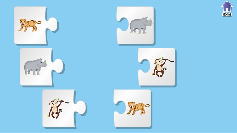 PreSchool Puzzles - Educational games for kids screen shot 7