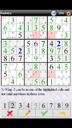 Sudoku (Free) screen shot 1