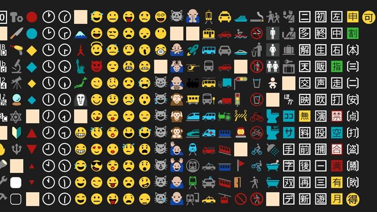 Emoji Font screen shot 3