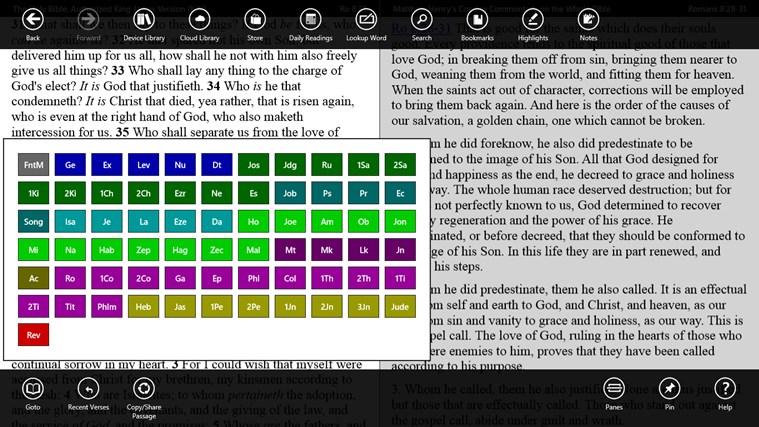 PocketBible Bible Study App screen shot 1