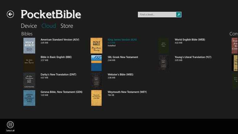 PocketBible Bible Study App screen shot 5