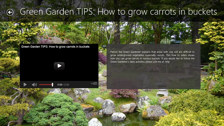 Gardening Tips screen shot 1
