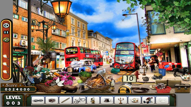 Hidden Objects - LONDON - Paradise - Kitchen screen shot 1