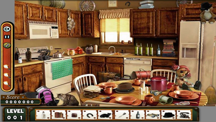 Hidden Objects - LONDON - Paradise - Kitchen screen shot 3
