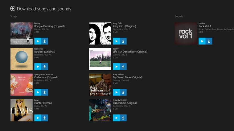 Surface Music Kit screen shot 1