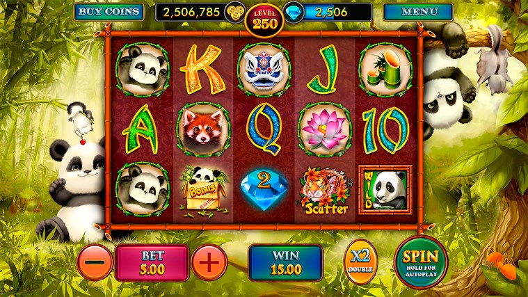 Lucky Panda™ Slot Machine Game to Play Free in Playtechs Online Casinos