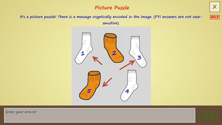 Puzzle Detective screen shot 3