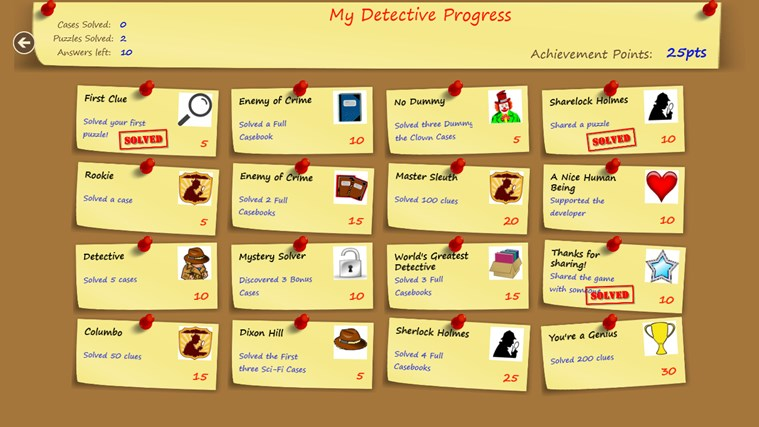 Puzzle Detective screen shot 5