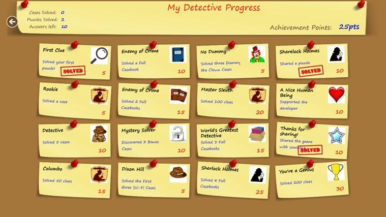 Puzzle Detective screen shot 5
