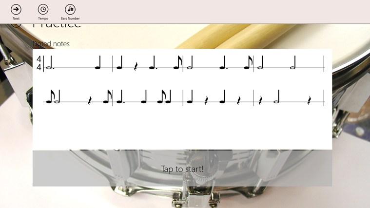 Rhythm Trainer zrzut ekranu 1