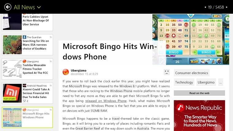 Appy Geek screen shot 1