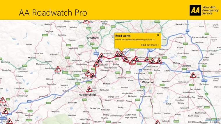 AA Roadwatch Pro screen shot 3